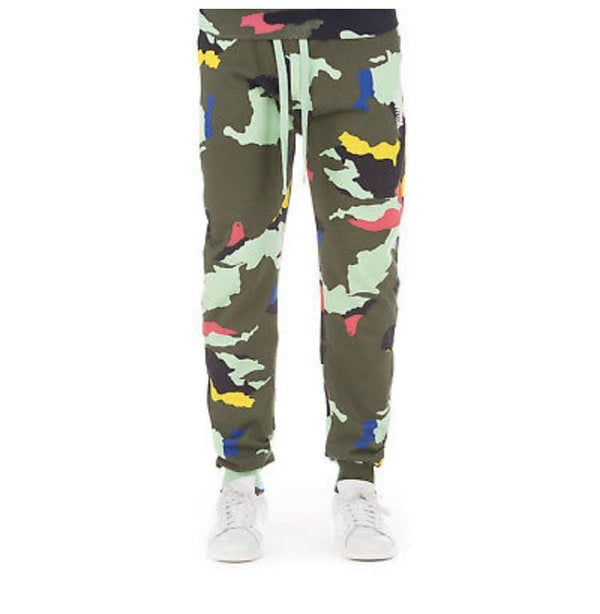BILLIONAIRE BOYS CLUB CAMO SWEATS 881-9100HAMLOCK