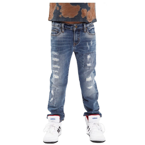 KID'S JEANS ROGUE SLIM STRAIGHT STRETCH (Recon) 88A1-RS10I