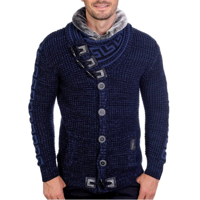 LCR Sweater (Blue/Grey)
