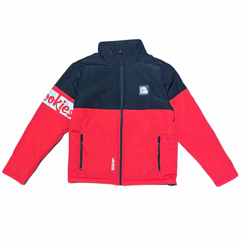 Cookies Glacier Of Ice Taslan Nylon Jacket (Red) 1546O4322