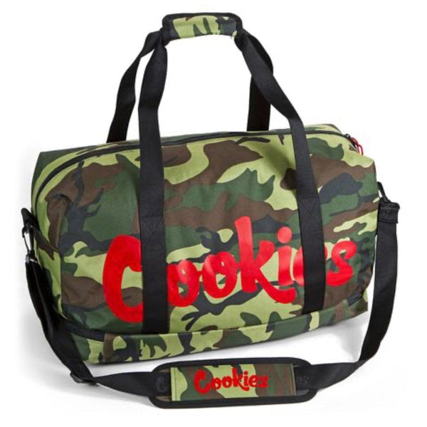 Cookies Explorer Nylon Duffel Bag Camo