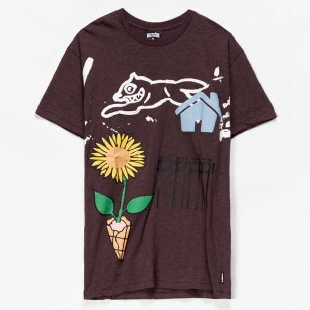 Ice Cream Gardener T Shirt (Shale) 401-7301