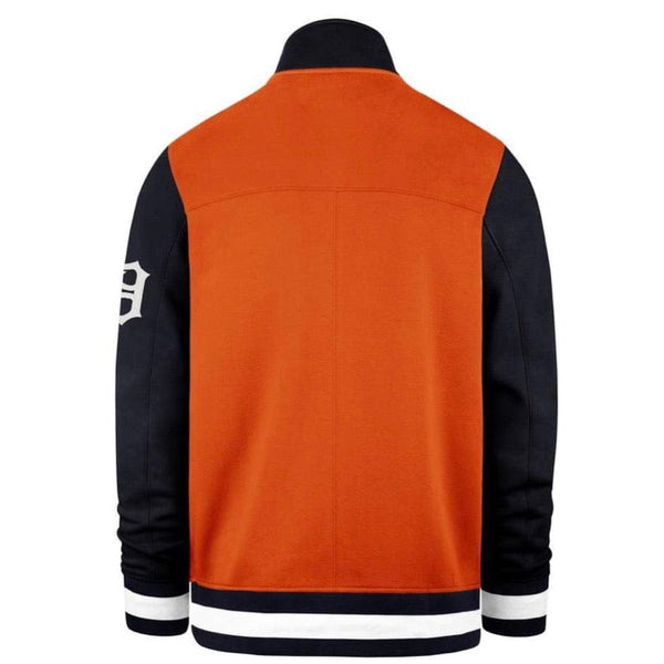 47 Brand Detroit Tigers Iconic Track Jacket Navy/Orange