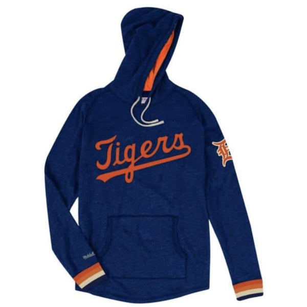 MITCHELL & NESS HOODED L SLEEVE TIGERS