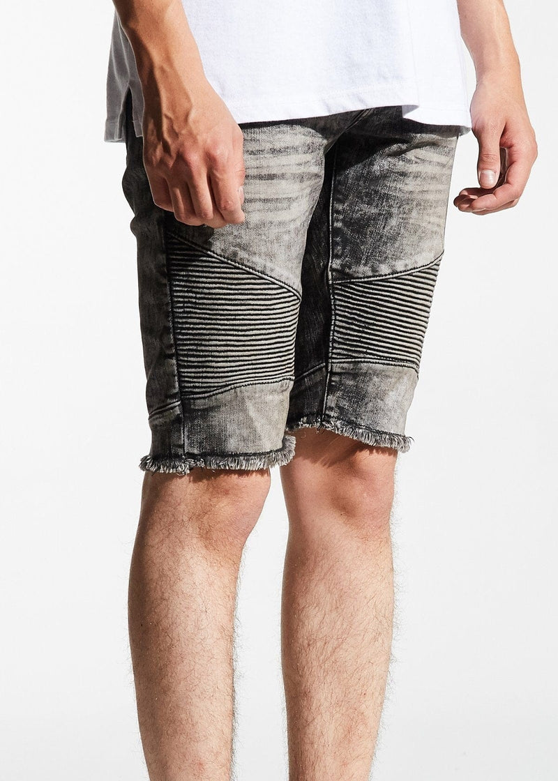 Embellish Mensa Biker Shorts Grey