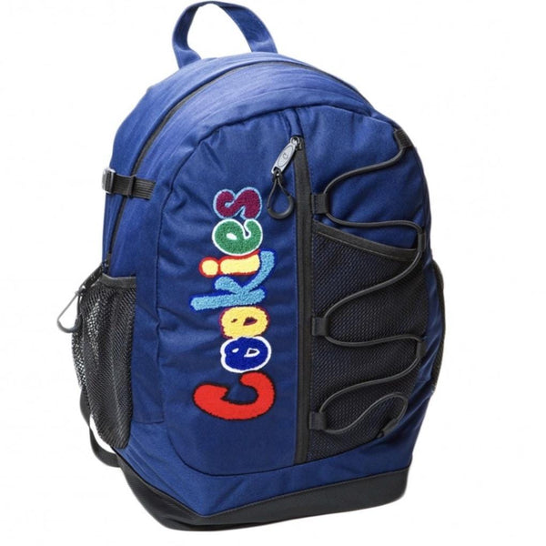 Cookies Smell Proof  Bungee Nylon Back Pack Navy