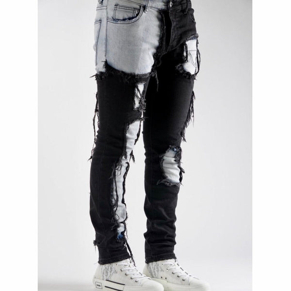 Valabasas Jeans V55 (Light Blue/Black) VLBS1155