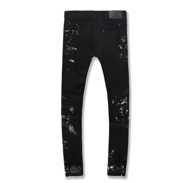 Jordan Craig Ross Omaha Striped Denim (Black) JR1011A