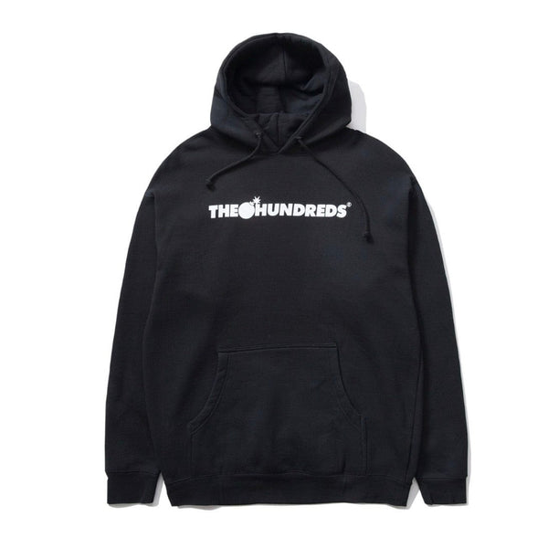 The Hundreds Bar Logo Pullover (Black)