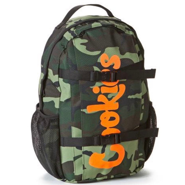 Cookies Ripstop Nylon Backpack (Green Camo)