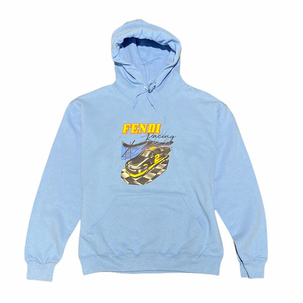 Bleach Goods Racing Hoodie (Blue)