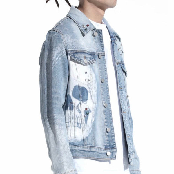Lifted Anchors Kingdom Denim Jacket (Blue) LAH20-19