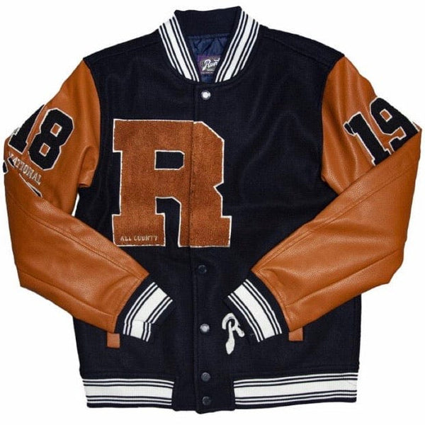 Runtz Unlimited Varsity Jacket (Navy) 37343