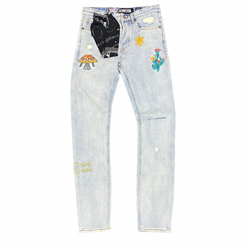 Billionaire Boys Club BB Dungarees Jean (Infinity) 811-1101