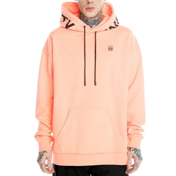 Cult of Individuality Pullover Hoody Sweatshirt (Coral)