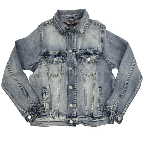 CRYSP DENIM JACKET BERING LIGHT INDIGO
