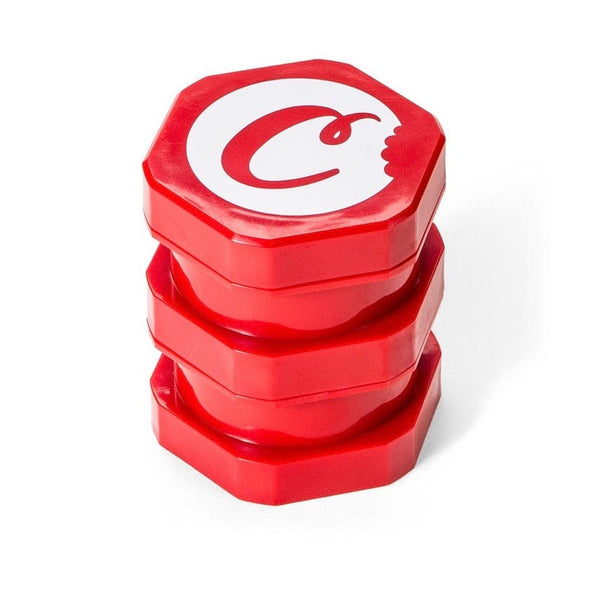 Cookies Large Stackable Plastic Storage Jar Red