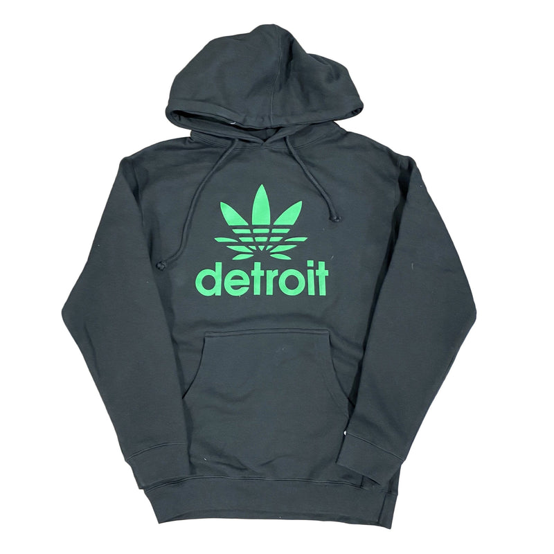Ink Detroit Cannabis Hoodie (Black/Green)