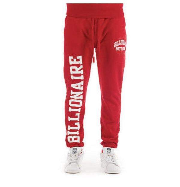 BILLIONAIRE BOYS CLUB JOGGERS 881-9102RED