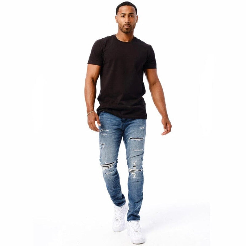 Jordan Craig Sean Linden Denim Jeans (Medium Blue) JM3399