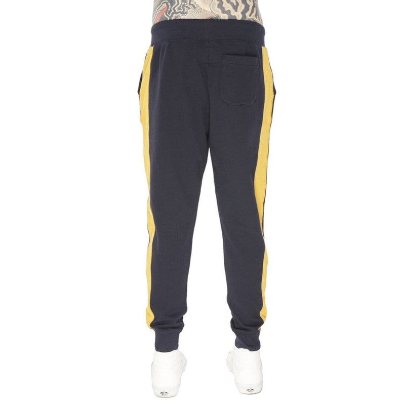 CULT OF INDIVIDUALITY SWEAT PANTS NAVY/GOLD