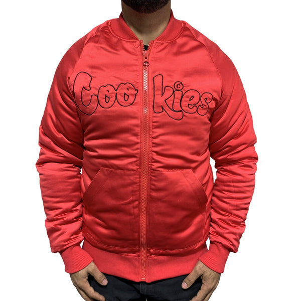 Cookies Daytona Satin Jacket Red