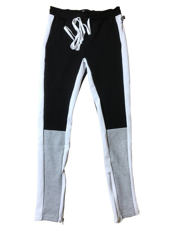 WAIMEA JOGGING PANTS - BLACK/GREY