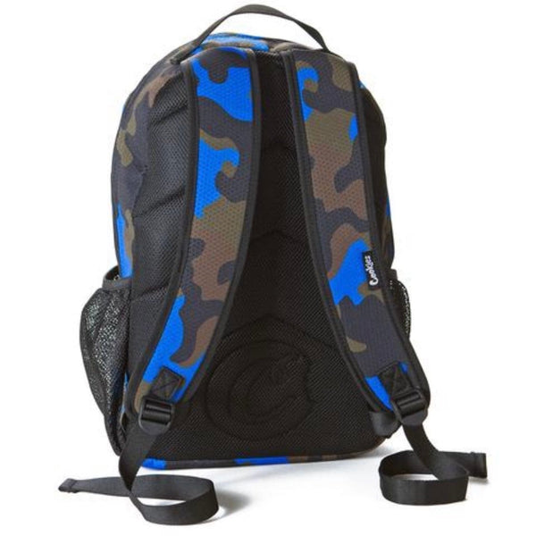 Cookies Ripstop Nylon Backpack (Blue Camo)