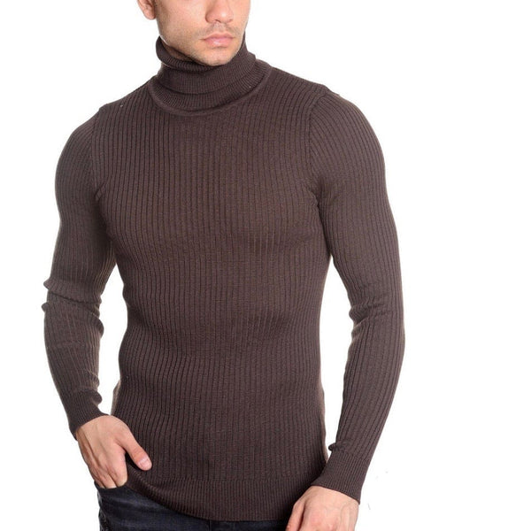 LCR Black Edition Turtleneck Sweater (Brown) 1670C