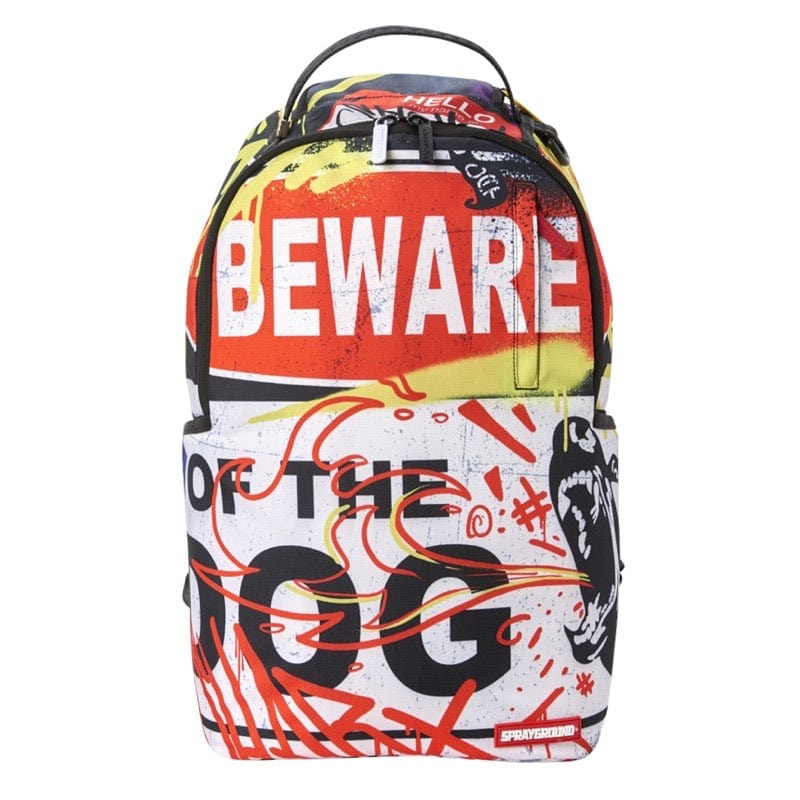 Sprayground Beware Of Dog Backpack