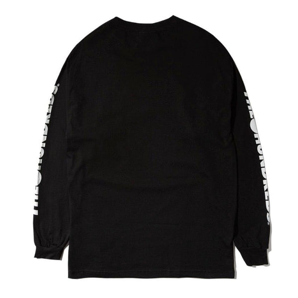 The Hundreds Solid Bomb Crest LS T Shirt (Black)