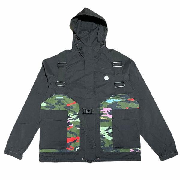Cookies Escobar Poly Hooded Jacket (Black) 1548O4515