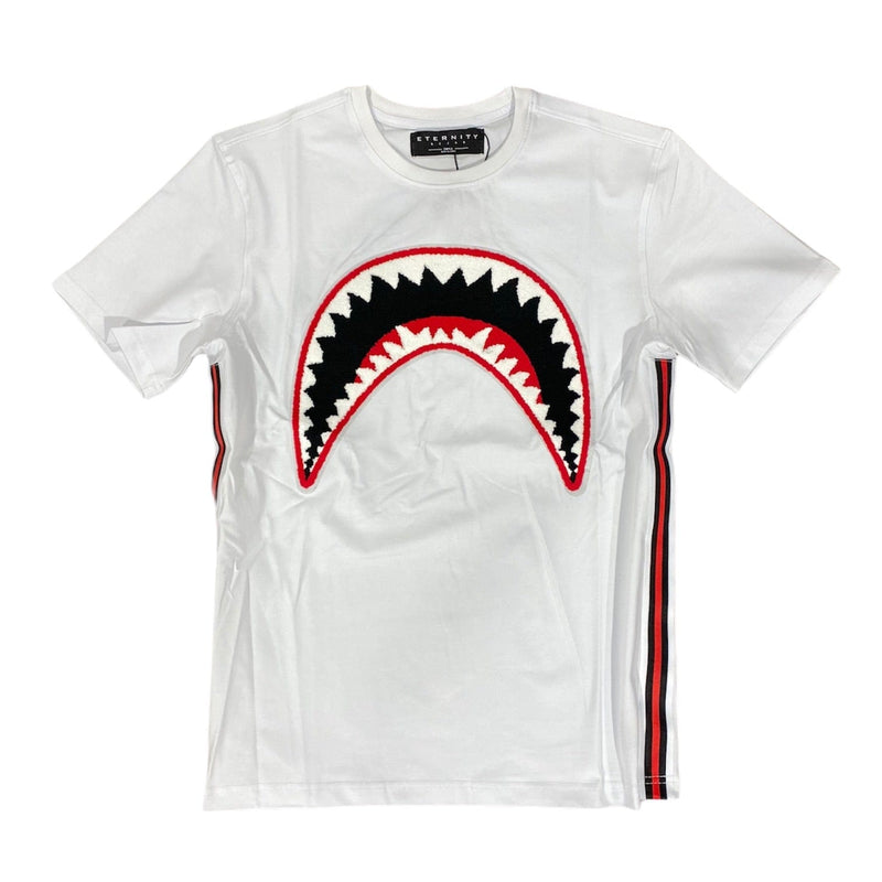Eternity Bc/Ad Shark Mouth T Shirt (White) E1133198-WHT