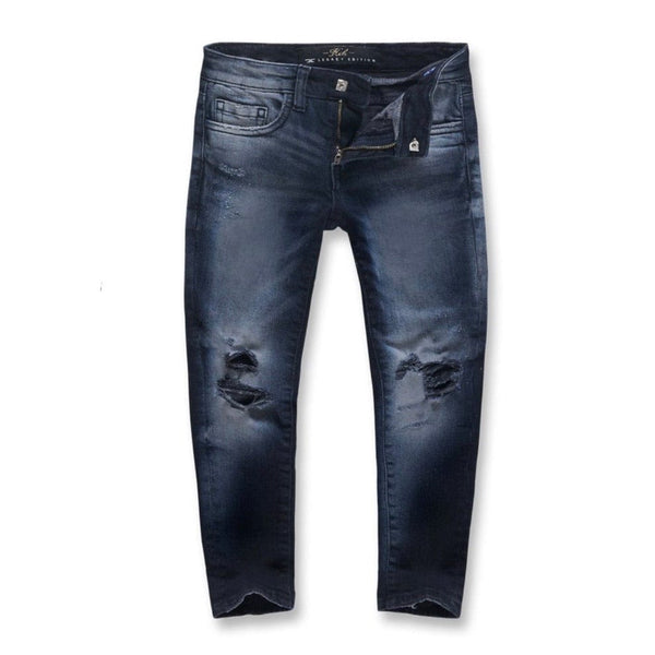 Kids Jordan Craig Asbury Denim (Midnight Blue) JM3314K