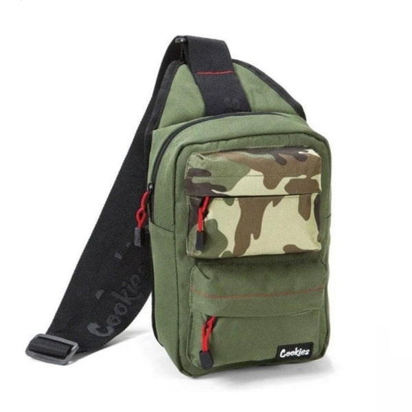 Cookies Rack Pack Sling Bag (Olive)