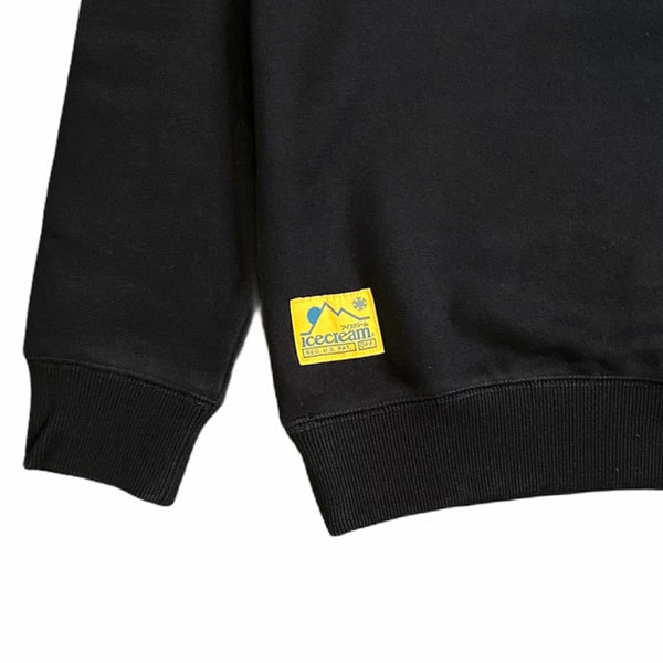 Ice Cream Cold World Crewneck (Black) 401-9308