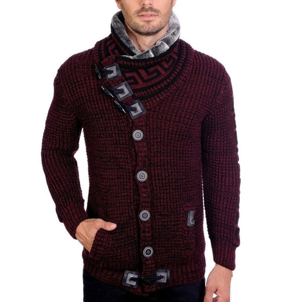LCR Sweater (Burgundy/Black) 6430