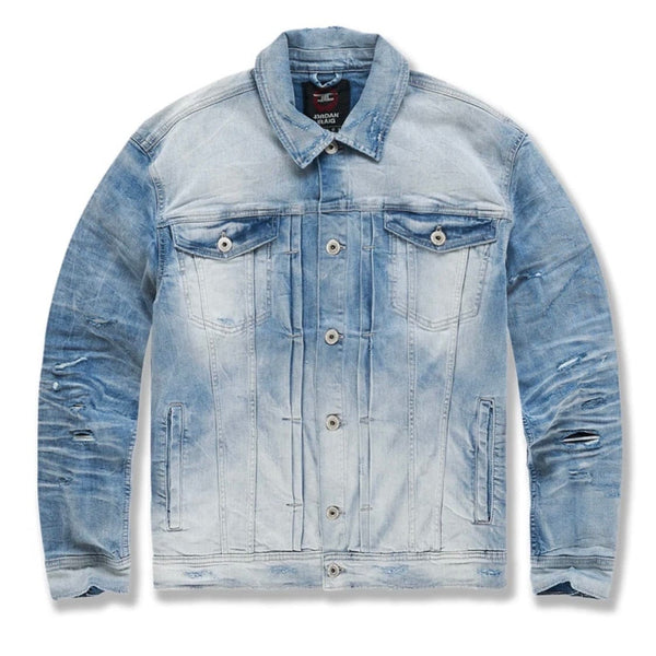 Jordan Craig Soho Denim Trucker Jacket (Arctic Wash) 91512A