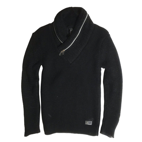LCR SWEATER - BLACK