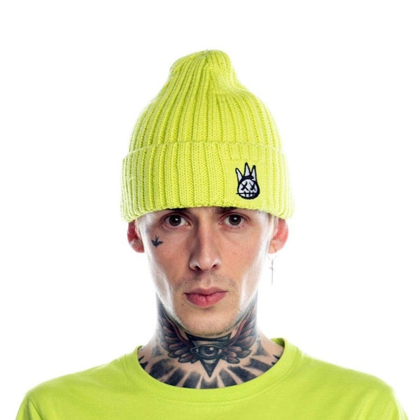 Cult of Individuality Knit Hat (Neon)