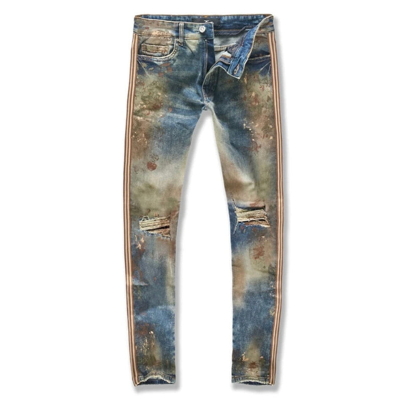 Jordan Craig Sean Sugar Hill Striped Denim (Woodland) JM3430