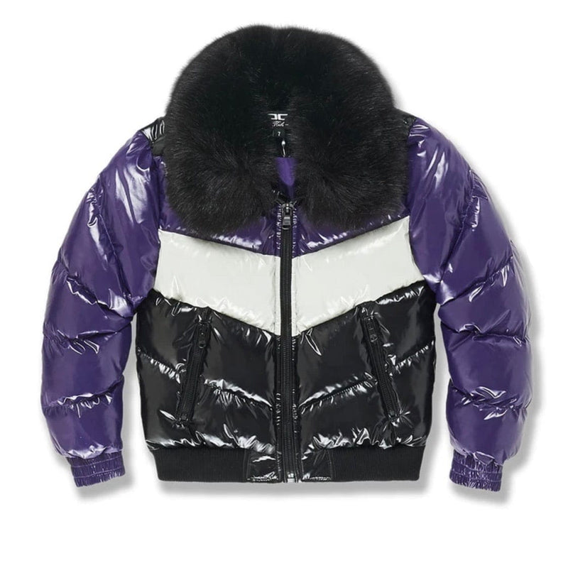Kids Jordan Craig Sugar Hill Nylon Puffer Jacket (Court Purple) 91505AB