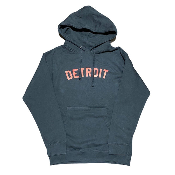 Ink Detroit Hoodie (Black/Red)