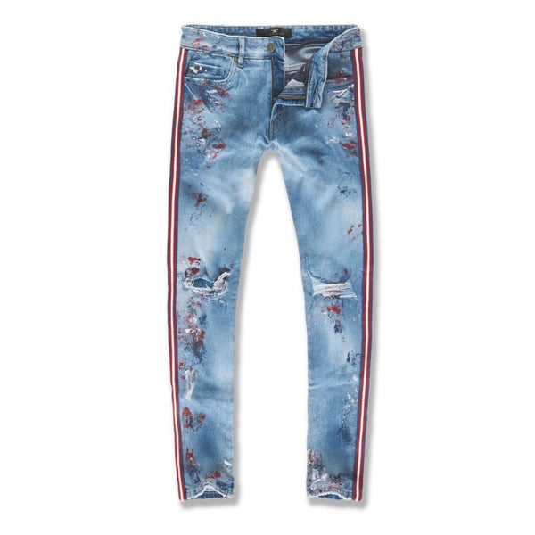 Jordan Craig Sean Sugar Hill Striped Denim (Americana) JM3430
