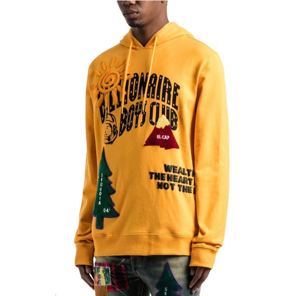 Billionaire Boy Club Peak Hoodie (Gold) 801-7307