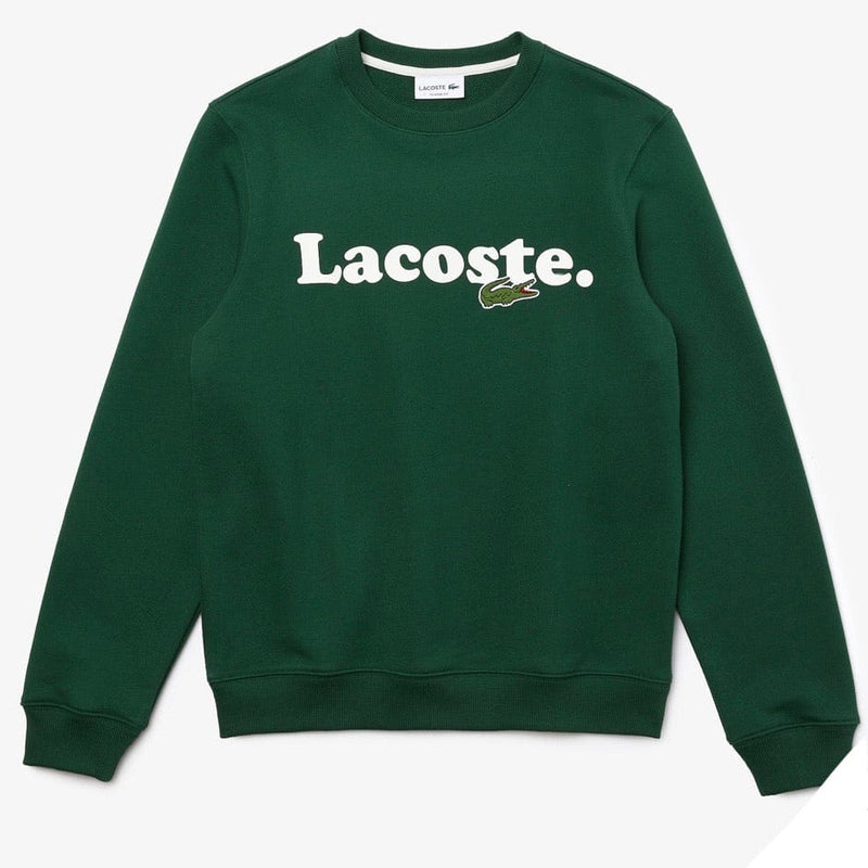 Lacoste Crocodile Branded Fleece Sweatshirt (Green) SH2173