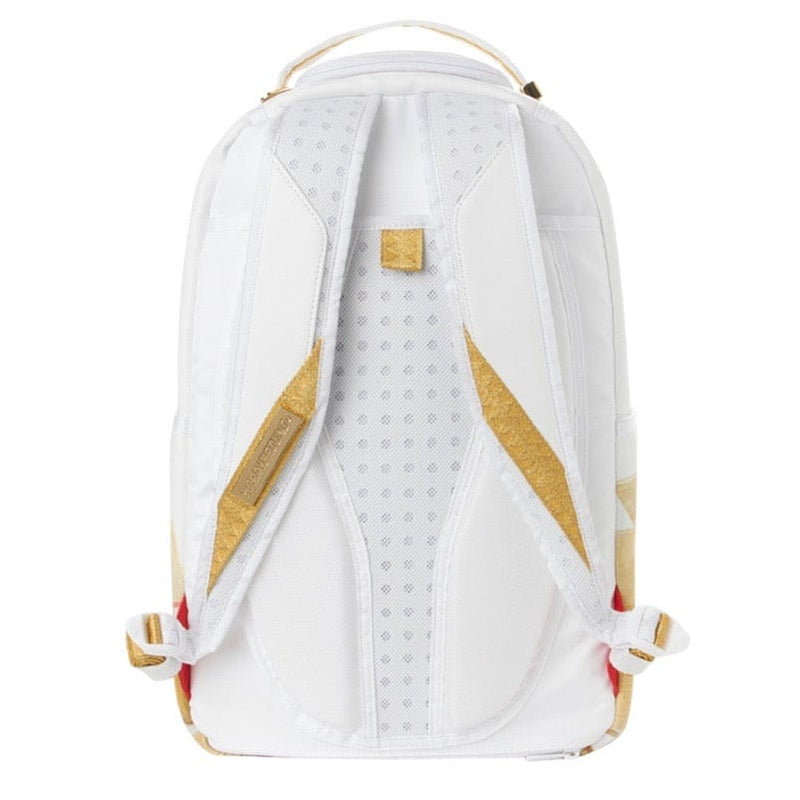 Sprayground Gold Money Bricks Backpack