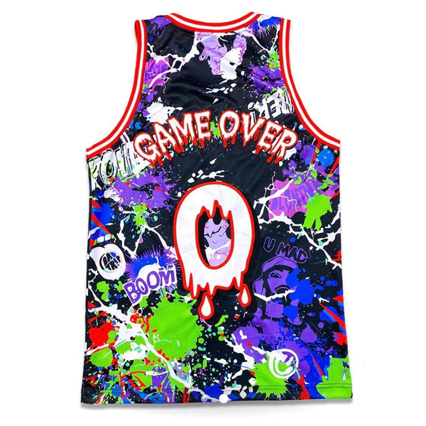 Sugarhill Trippy Basketball Jersey (Black) SH-CAB-RS-05