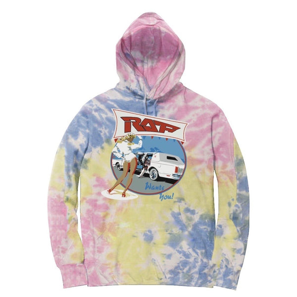 Bleach Goods We Want You Hoodie (Tie Dye)