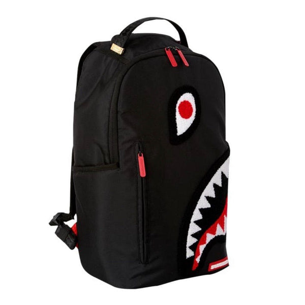 Sprayground Torpedo Shark Backpack (Black)